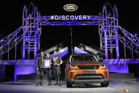 All-new Land Rover Discovery makes spectacular debut
