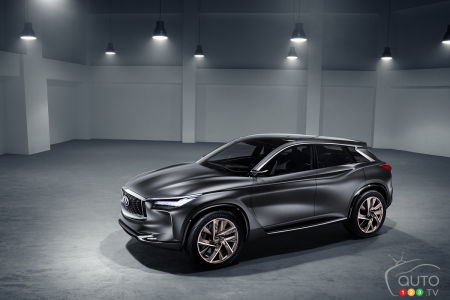Paris 2016: Infiniti updates QX concept, launches innovative engine tech