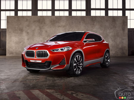 Paris 2016: BMW Concept X2 world premiere