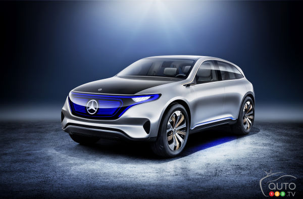 Paris 2016: Mercedes-Benz introduces Generation EQ electric concept