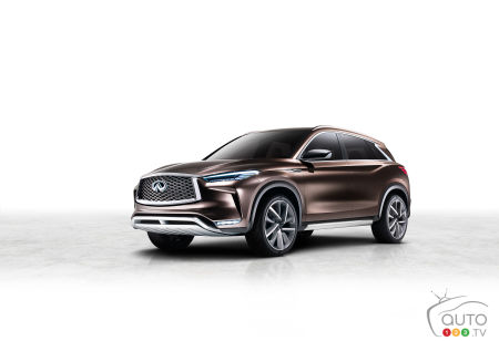 Detroit 2017: World Premiere for the Infiniti QX50 Concept