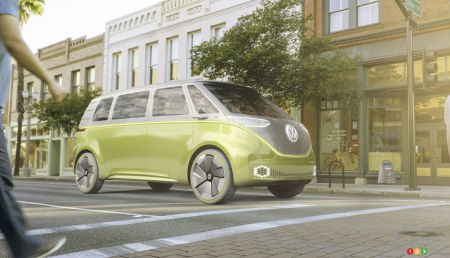 Detroit 2017: Volkswagen I.D. Buzz concept is a Microbus for the future (video)