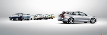 Detroit 2017: North American Premiere for the Volvo V90