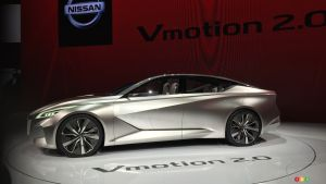 Detroit 2017: Future Nissan sedans previewed by Vmotion 2.0 concept (video)