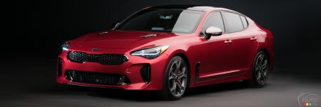 la kia stinger 2018 lanc e en premi re mondiale d troit actualit s automobile auto123. Black Bedroom Furniture Sets. Home Design Ideas