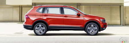 Detroit 2017: New, longer Volkswagen Tiguan on display (video)