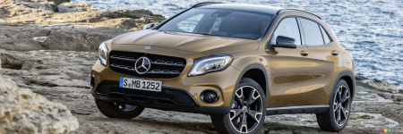 le mercedes benz gla 2018 d voil au salon de d troit actualit s automobile auto123. Black Bedroom Furniture Sets. Home Design Ideas