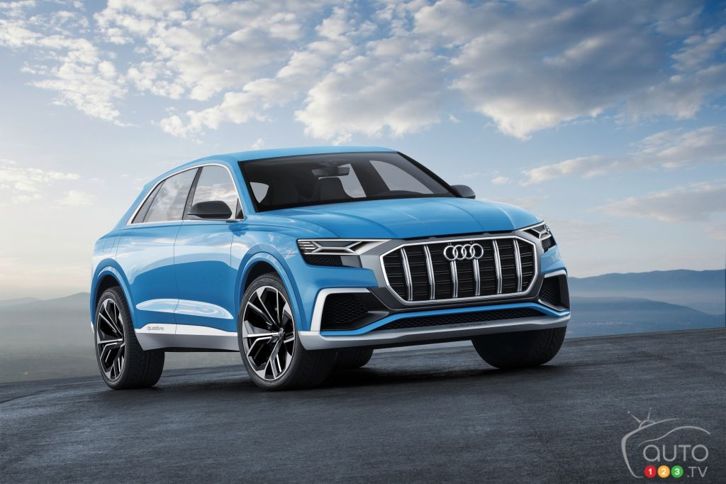 Detroit 2017: The Audi Q8 Concept Debuts