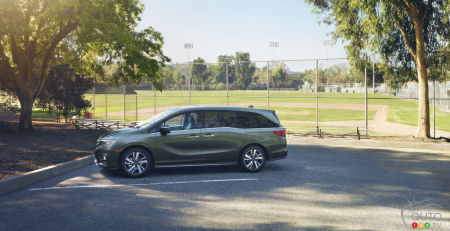 Detroit 2017: Honda Odyssey gets new features and technologies for 2018