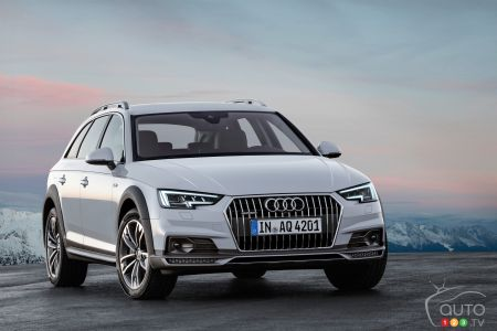 Audi A Allroad Quattro Shines In The Snow Car Reviews Auto - Audi q4