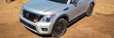 2017 Nissan Armada and Infiniti QX80 Review