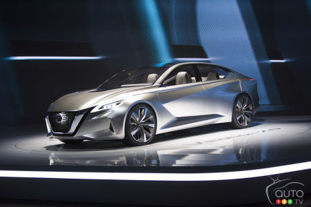 Detroit 2017: Nissan Vmotion 2.0 wins EyesOn design award for best concept (videos)