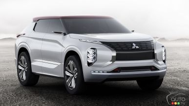 Montreal 2017: North American debut of the Mitsubishi GT-PHEV concept