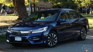 Honda Accord Hybrid Touring 2017 : essai routier