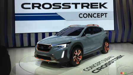 Montreal 2017 : Next-gen Subaru Crosstrek appears as a concept