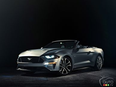2018 Ford Mustang Convertible unveiled with key upgrades
