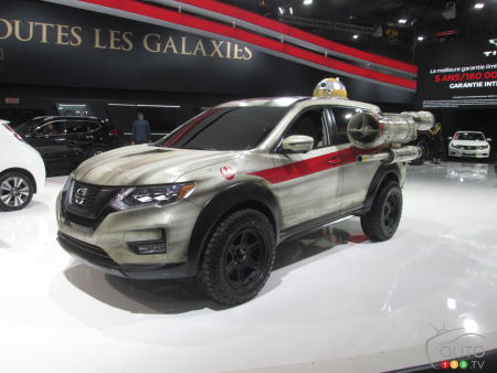 Montreal 2017: Nissan keeps Star Wars fun going
