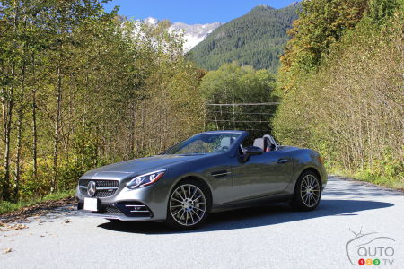2017 Mercedes Amg Slc 43 Has The Right Stuff Car Reviews Auto123