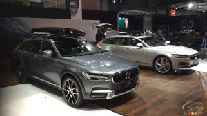 Montreal 2017: V90 and V90 Cross Country; Volvo celebrates 20 years of AWD (videos)