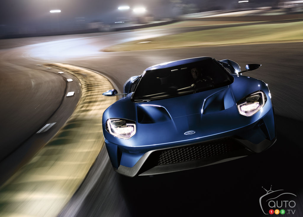 Ford GT posts record lap times, offers new order kit