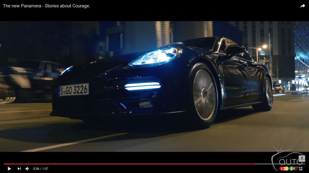 The new 2017 Porsche Panamera and stories of courage (videos)