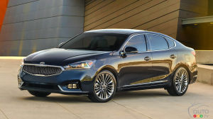 All New 2017 Kia Cadenza On In February At A Lower P