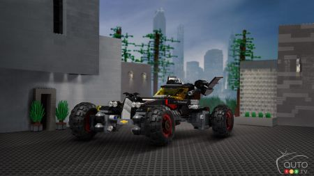 Chevy's LEGO Batmobile looks like young Batman's dream car (videos)