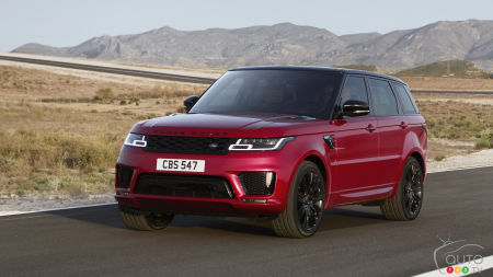 2018 Range Rover Sport Freshens Up… and Gets Hybrid Version for 2019!