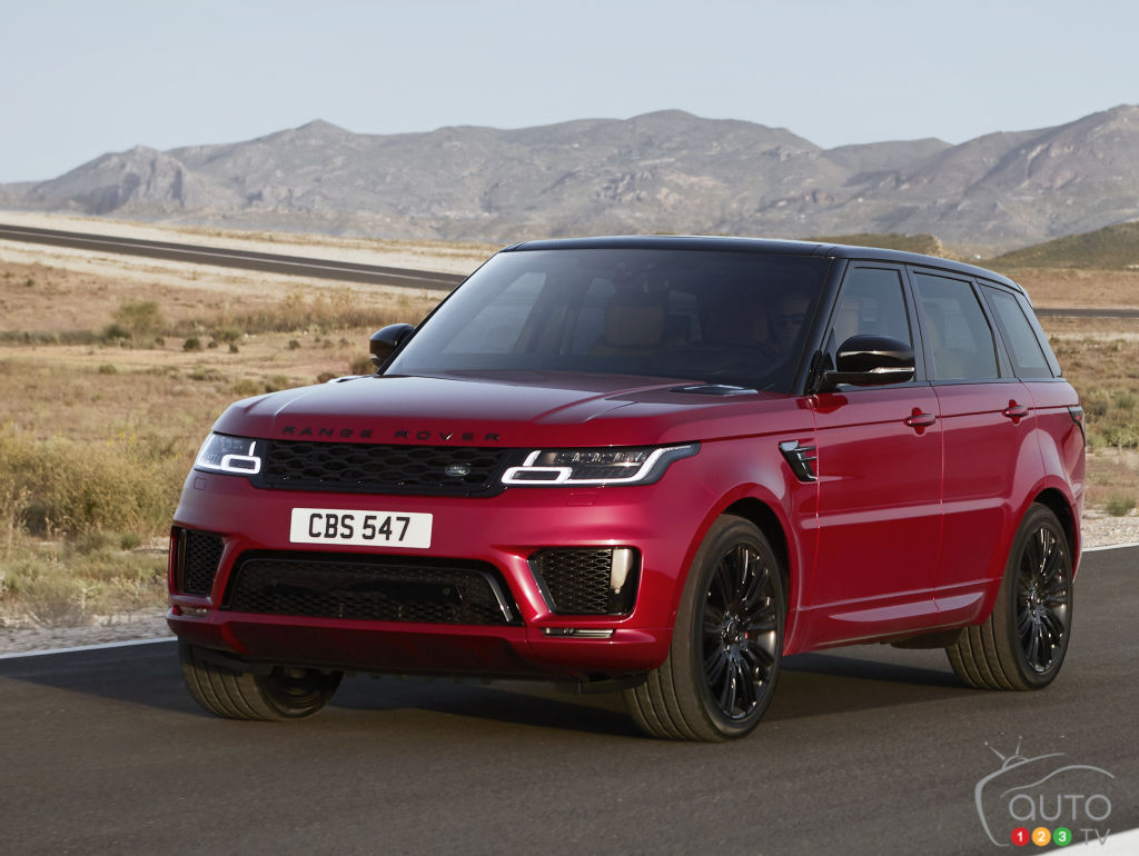 articles sur range rover sport actualit s automobile auto123. Black Bedroom Furniture Sets. Home Design Ideas