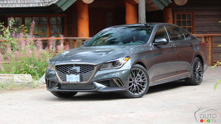 2018 Genesis G80 Sport: Living up to Lofty Standards
