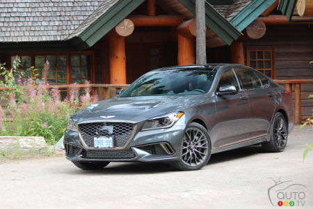 2018 Genesis G80 Sport Review Car Reviews Auto123