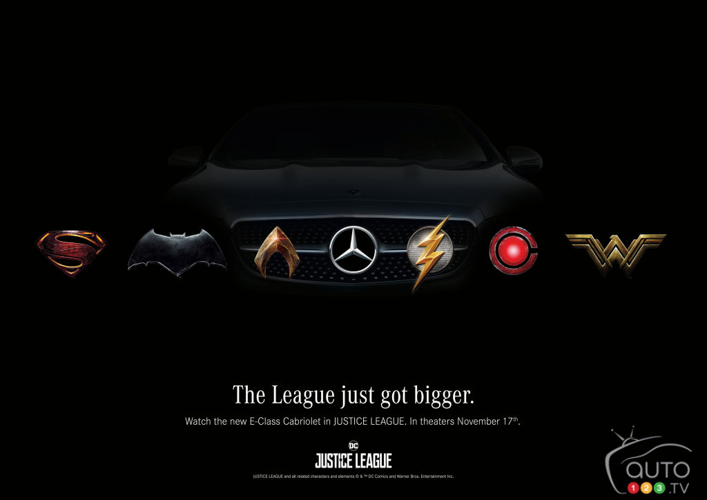 "Mercedes-Benz Co-Starring in Upcoming ""Justice League"" Movie"