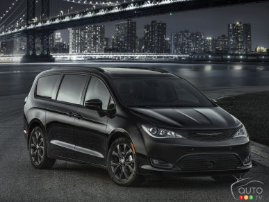 Une Chrysler Pacifica 2018 d'allure plus sportive? On en veut une!