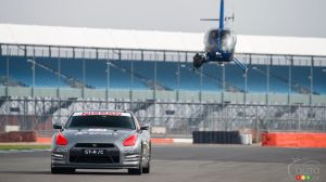 Remote-Controlled Nissan GT-R Tops 200 km/h at Silverstone!