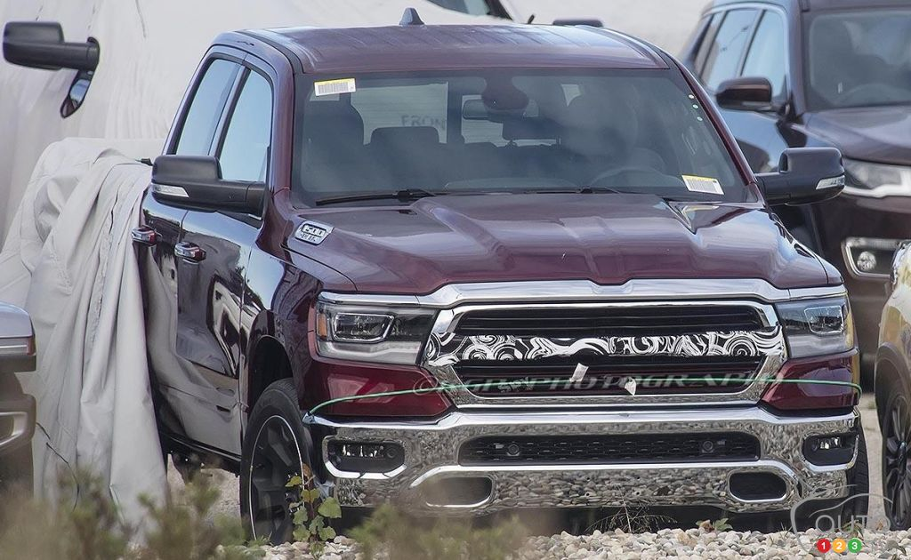 The 2019 RAM 1500 unveiled by accident | Car News | Auto123