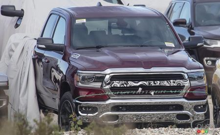 2019 RAM 1500 Unveiled by Accident