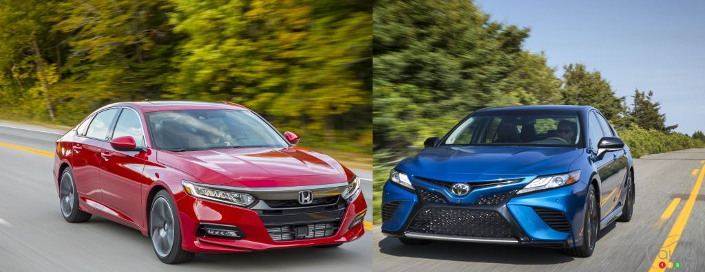 2018 Honda Accord Vs Toyota Camry What To Car Reviews Auto123