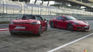 2018 Porsche 718 GTS Models Are Here; Fancy a Racier Boxster or Cayman?