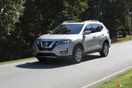2018 Nissan Rogue Overview And Pricing Car News Auto123