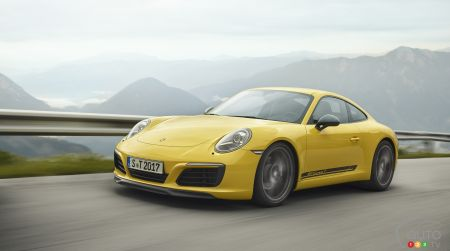 New Porsche 911 Carrera T, for the Purists