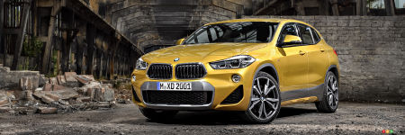le bmw x2 2018 bient t au canada prix et d tails actualit s automobile auto123. Black Bedroom Furniture Sets. Home Design Ideas