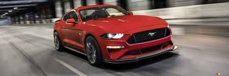ford mustang 2018 les prix canadiens d voil s industry auto123. Black Bedroom Furniture Sets. Home Design Ideas