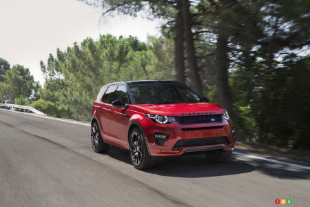 2018 Land Rover Discovery Sport, Range Rover Evoque Get Two New Engines