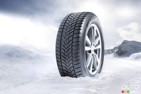 dunlop et goodyear dominent des tests de pneus d hiver actualit s automobile auto123. Black Bedroom Furniture Sets. Home Design Ideas