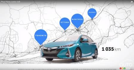 Toyota Prius Prime Vs Chevrolet Volt Toyota S Advantage Car News