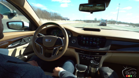 Demonstration of the Self-Driving Cadillac