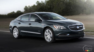 Buick LaCrosse Avenir Becomes Buick's New Top Luxury Dog