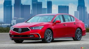 Updated (and Hybrid) 2018 Acura RLX Available Now