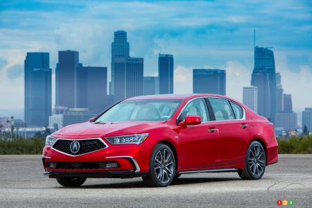 Acura RLX Pricing And Equipment Car News Auto - Acura hybrid 2018