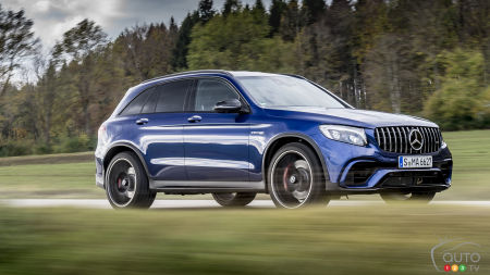 Mercedes-AMG GLC 63 Compact SUV Delivers up to 510 Horses!